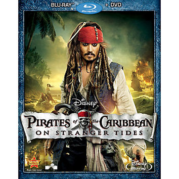 Pirates of the Caribbean: On Stranger Tides - Blu-ray + DVD Combo Pack