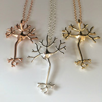 Graduation Gift Neuron Necklace Gift for student Psychology gift Science Gift for Doctor Gift Nurse