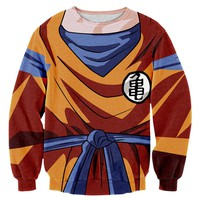 Dragon Ball Z Anime Sweatshirt