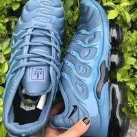 HCXX 19July 558 Nike Air Vapormax Plus Sneakers Casual Fashion Running Shoes blue black