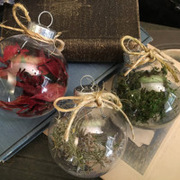 Christmas Ornament Rustic Ornament Natural Holiday Decoration