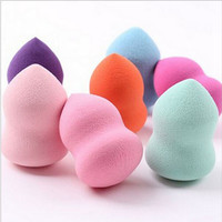 New 4pcs/Lot Multi Shape Pro Mini Beauty Flawless Makeup Blender Foundation Puff Sponges