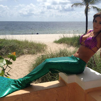 Ariel inspired Hipster®Mermaid Tail that you can swim and walk in •  Top-quality Mermaid Tails