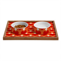 Caroline Okun Love Saves Pet Bowl and Tray
