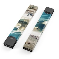 Drama NYC - Premium Decal Protective Skin-Wrap Sticker compatible with the Juul Labs vaping device