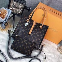 Louis Vuitton LV two-piece fashion all-match shoulder bag