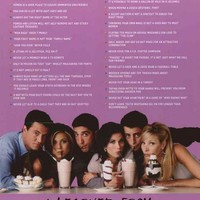 Friends Funny Quotes TV Show Poster 24x36