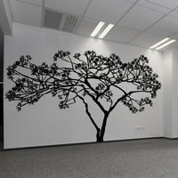 Wide Tree Wall Decal. #AC156