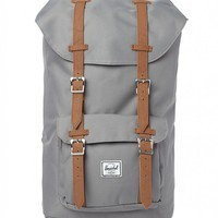 Herschel Little America Backpack Grey - Gifts - Accessories - Shop | The Idle Man