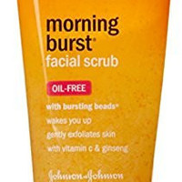 Clean & Clear Morning Burst Shine Control Facial Scrub, with Bursting Beads, 5 oz (141 g)