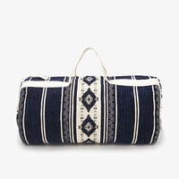 Southwestern-Patterned Duffle Bag