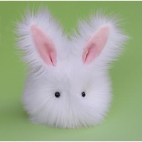 Cottonball the White Bunny Stuffed Animal Plush Toy