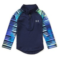 Under Armour Little Girls 2T-6X 1/4-Zip Long-Sleeve Top | Dillards