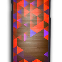 Geometric Wood for Iphone 6 Hard Cover Plastic