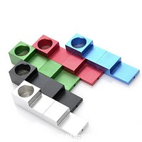 Mini Fashion Whistle Folding Magnet Freedom Splicing Portable Smoking Pipes Metal Tobacco Weeds Pipe