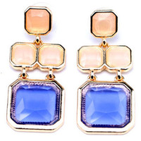 Square Layer Earrings