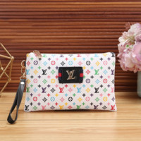 LV Women Fashion Clutch Bag Handbag Tote Satchel