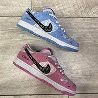 Dior x Nike Sb Dunk Low Pro low-top skateboard shoes