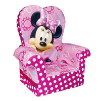 Marshmallow Furniture Minnie's Bow High Tique Back Chair