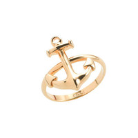 Anchor ring - rings - Women's jewelry - J.Crew
