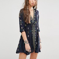 Free People Star Gazer Embroidered Dress at asos.com