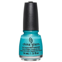China Glaze What I Like About Blue Nail Polish (Lite Brites 2016 Collection)