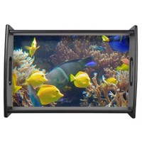 Coral Reef Fish Serving Tray