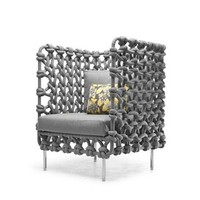 Kenneth Cobonpue Cabaret Lounge Chair - Style # CECBL-3139, Modern Armchairs | Contemporary Arm Chairs | SwitchModern