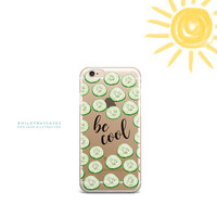 Clear TPU Case Cover for Apple iPhone - Be Cool
