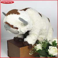 50CM The Last Airbender Resource Appa Avatar Stuffed Animals Plush Doll Cow OX Toy Gift Kawaii Plush Toys Unicorn Pillow Cattle