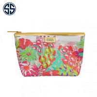 """Simply Southern Clear Cosmetic Bag """"Jungle"""""""