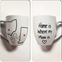 Home Is Where My Mom Is Mug