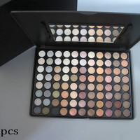 88 Full Warm Color Chocolate Eyeshadow Palette - Professional