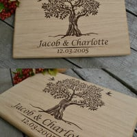 Personal Engraving For Wedding Cutting Board Housewarming Gift Wooden Cutting Board Cookware Original Wedding Gift Bridal Shower Gift
