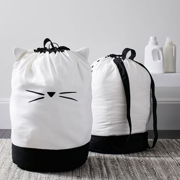 The Emily & Meritt Cat Ear Laundry Backpack