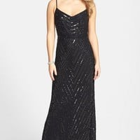 Women's Adrianna Papell Beaded Gown
