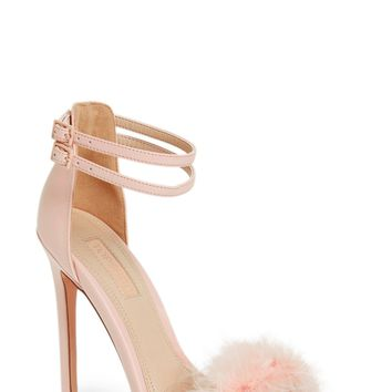 Topshop 'Reese' Feather Sandal (Women) | Nordstrom
