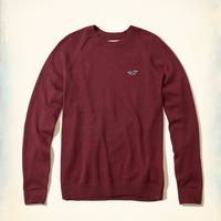 Guys Crew Icon Sweater | Guys New Arrivals | HollisterCo.com