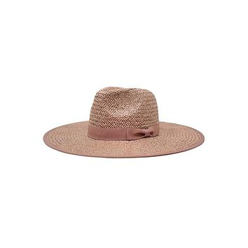 SAIL AWAY - Straw Panama Hat (Dark Rose Pink)