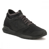 Le Coq Sportif Mens Triple Black Omicron Trainers