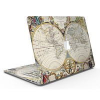 The Vintage Mirroring Hemispheres - MacBook Air Skin Kit