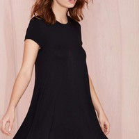 Nasty Gal Take the Shirt Cut Dress