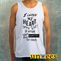 1D Midnight Memories Clothing Tank Top For Mens