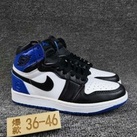 Women's and Men's NIKE Air Jordan 1 generation high basketball shoes 026