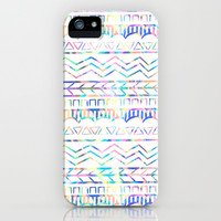 Psychedelic Tribal Pattern iPhone & iPod Case by An Luong