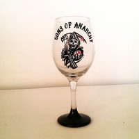 Sons of Anarchy Wine glass - SOA - 20 oz