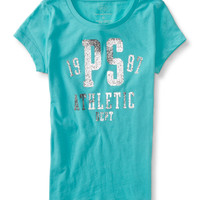 PS from Aero  Kids' Shine PS 1987 Graphic T