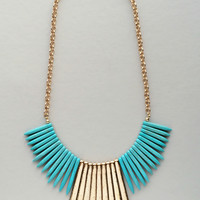 Hatshepsut Turquoise Necklace - Made in NYC