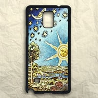 Old Starry Sun And Moon Samsung Galaxy Note 3 Case