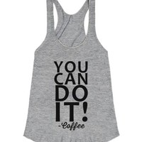 You Can Do It-Unisex Athletic Grey T-Shirt